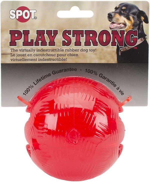 Ethical 54002-2 Play Strong Rubber piłka 3,75''