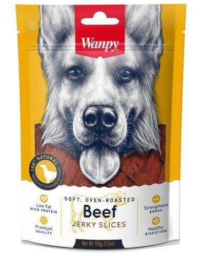 Wanpy 0153 Miękkie Paseczki z wołowiny 100g psa