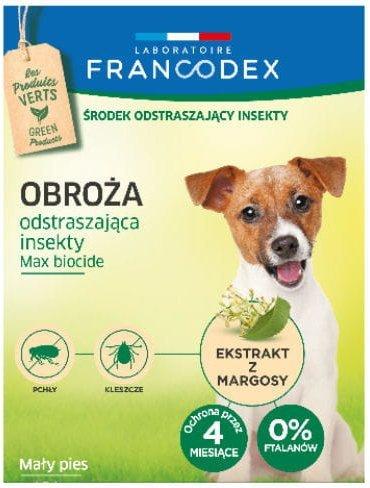 Francodex 179171 Obroża insek. dla małego psa 35cm