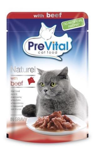 PreVital Naturel 5929 saszetka 85g wołowina sos