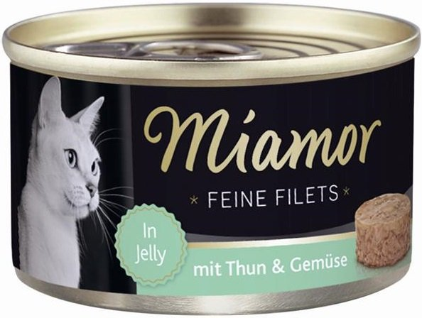 Miamor 74047 Feline Filets Heller Tuńczyk+War 100g