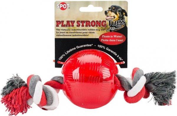 Ethical 54104-3 Play Strong Ruber piłka 3,2' sznur