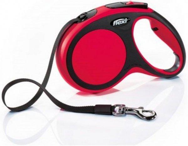 Flexi 2804 Comfort XS Tape 3m 12kg czerwona*