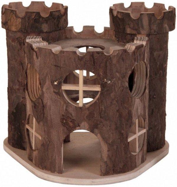 Trixie 6168 Zamek Drewniany 17x15x12cm