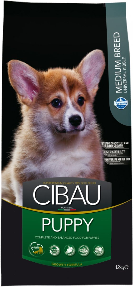 Cibau Dog 1020 Puppy Medium 12kg
