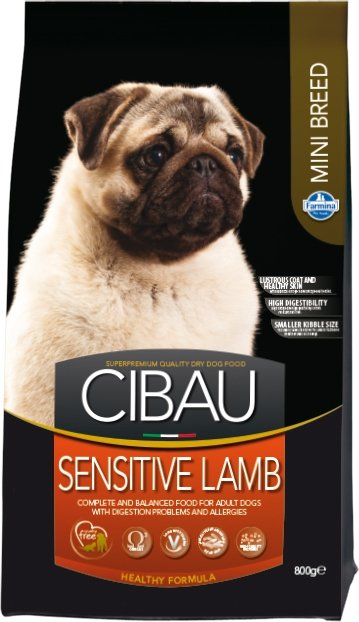 Cibau Dog 0894 Sensitive Lamb Mini 800g
