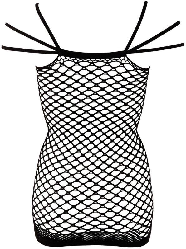 Bezszwowa sukienka siatkowa S-L