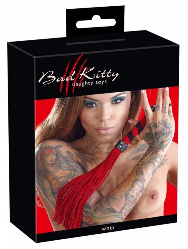 Czerwony pejcz Bad Kitty