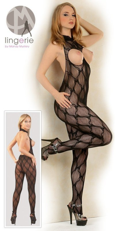 Koronkowy catsuit S-L