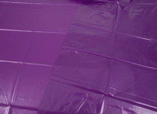 Winylowe prześcieradło fioletowe 200x230