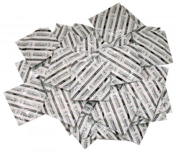 Prezerwatywy KingSize duże 100 szt. London