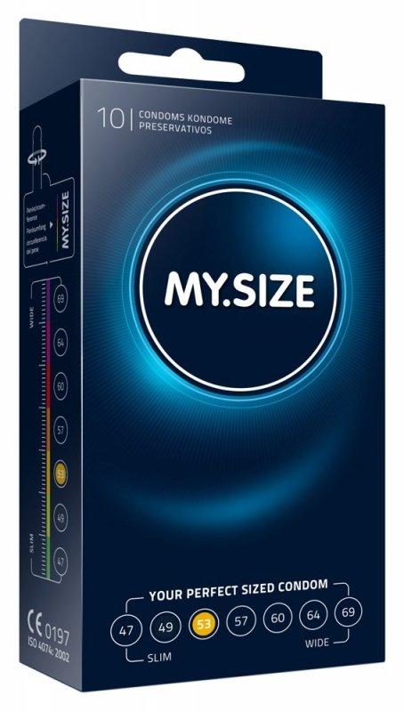 Prezerwatywy 53 mm 10szt. My.Size