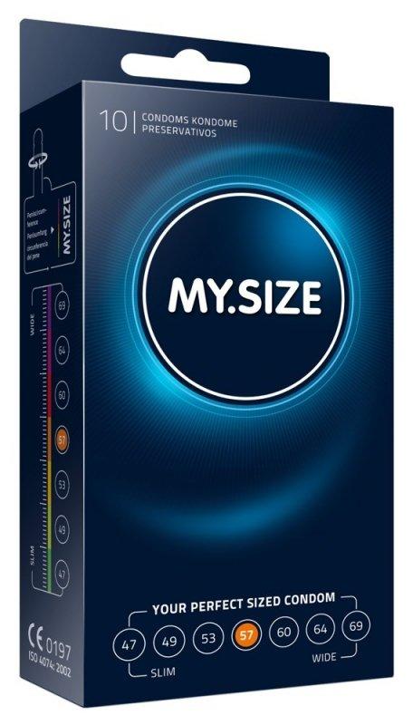 Prezerwatywy 57 mm 10szt. My.Size