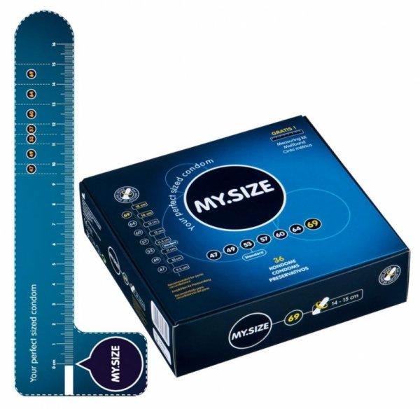 Prezerwatywy 69 mm 36 szt. My.Size
