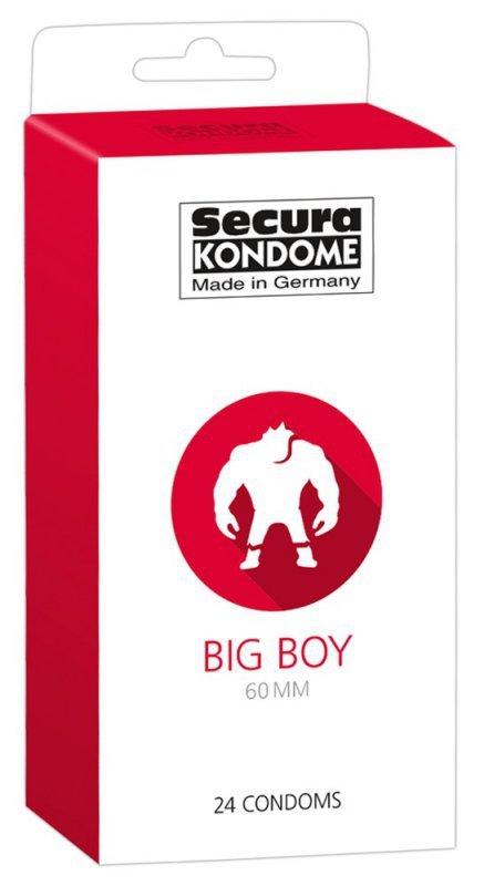 Prezerwatywy Big Boy 60 mm 24 szt. Secura