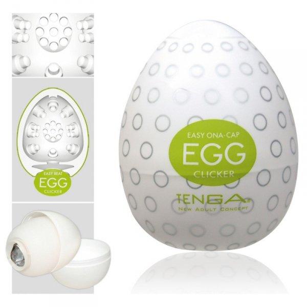 Masturbator Tenga Egg Clicker- 1 szt.