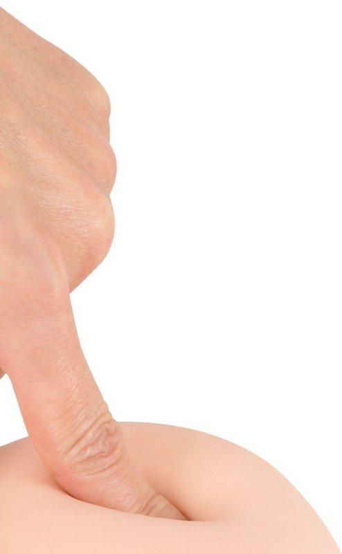 Dildo z przyssawką 29,5 cm Nature Skin