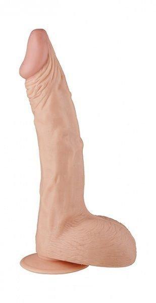 Dildo z przyssawką Hoodlum 28 cm