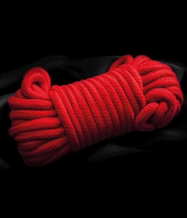 Czerwona lina do krępowania 5m