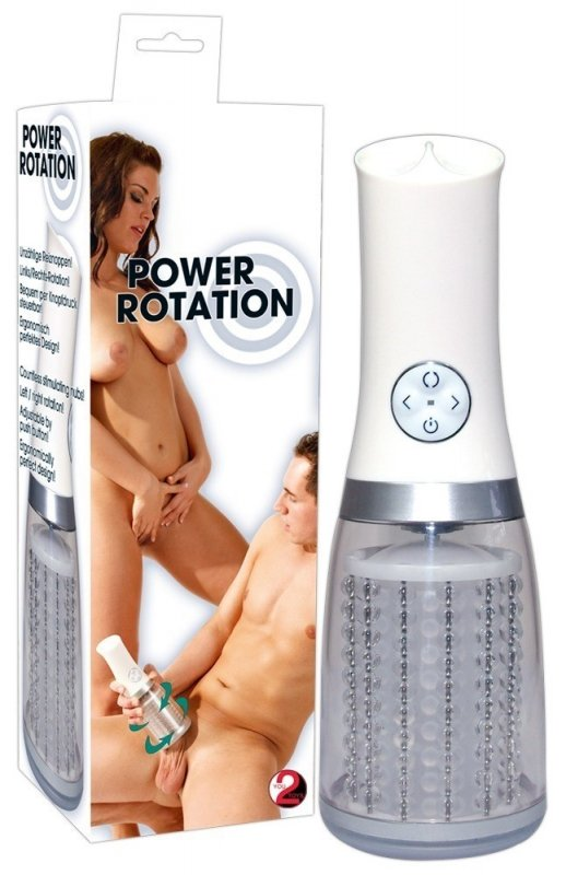 Power Rotation Masturbator