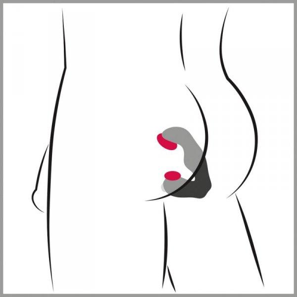 Masażer prostaty Rebel