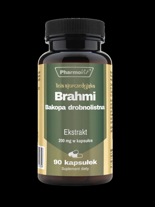 Brahmi Bacopa monnieri 90kaps. PharmoVit