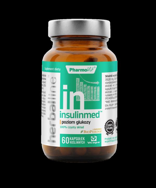 Herballine Insulinmed™ poziom glukozy 60 kapsułek
