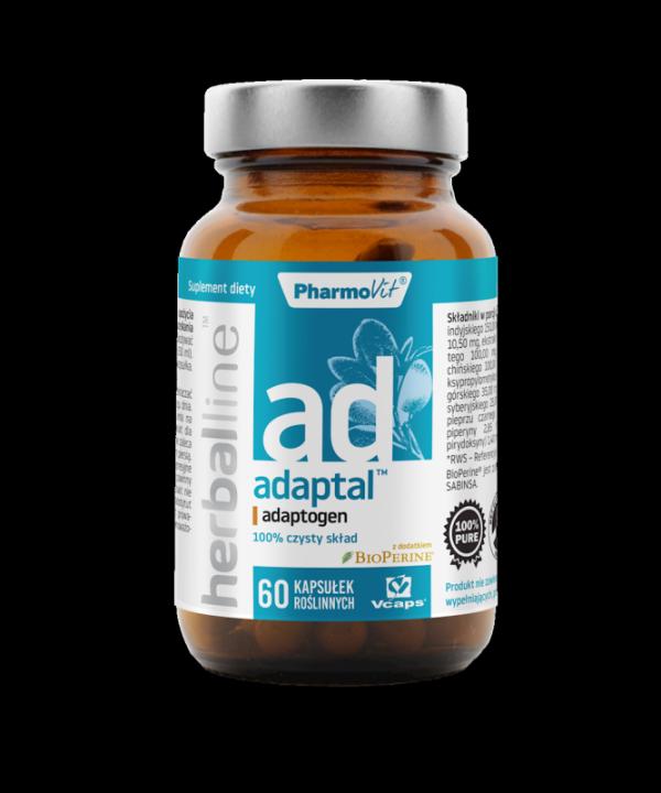 Herballine Adaptal™ adaptogen 60 kapsułek