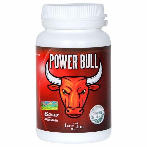 Power Bull 65 kapsułek suplement na erekcję