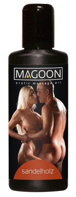 Olejek do masażu Drzewo sandałowe 100ml Magoon