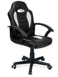 Gamingowy fotel obrotowy dla gracza biały Sofotel Scorpion