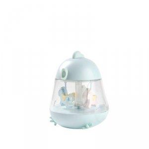 Lampka z pozytywką Kurczaczek niebieska