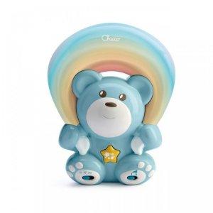 Rainbow bear blue