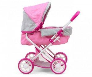 MILLY MALLY Wózek dla lalek Alice Prestige Pink