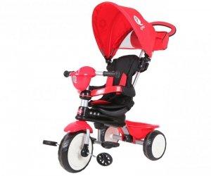 Qplay Rowerek Trójkołowy Comfort Red