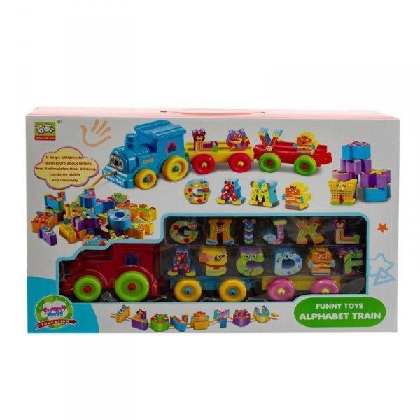 Zabawka pociąg-alfabet 0886928