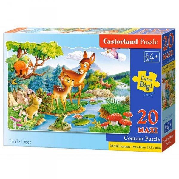Puzzle 20el.maxi little deer