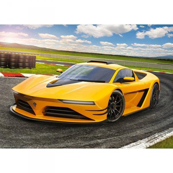 Puzzle 120el. yellow sportscar