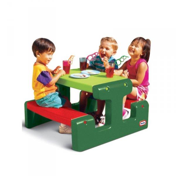 LITTLE TIKES Stolik Piknikowy dla Dzieci Soczysta Zieleń