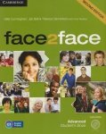 Face2face Second edition  Advanced Students Book + DVD Gillie Cunningham, Jan Bell, Theresa Clementson