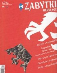 Zabytki Heritage Nr 7 (30) lipiec 2008