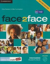 face2face Second Edition Intermediate Students Book + DVD Chris Redston, Gillie Cunningham
