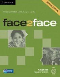 face2face Second Edition Advanced Teachers Book (+ DVD)  Theresa Clementson, Gillie Cunningham, Jan Bell