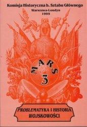Mars 3 Problematyka i historia wojskowości Komisja Historyczna b. Sztabu Głównego