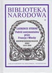 Podróż sentymentalna przez Francję i Włochy Laurence Sterne