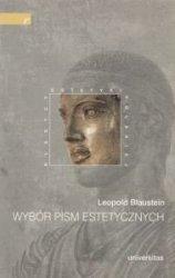Wybór pism estetycznych Leopold Blaustein