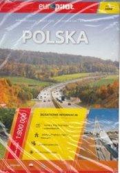 Polska Atlas drogowy w skali 1:800 000 Europilot wersja mini