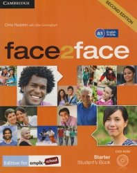 face2face Second Edition Starter Students Book + DVD Chris Redston, Gillie Cunningham