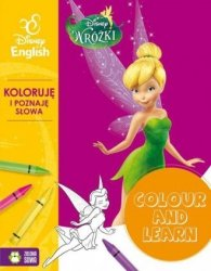 Wróżki Colour and learn! Koloruje i poznaję słowa Disney English