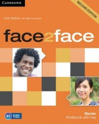 Face2face Starter Second Edition Workbook with Key